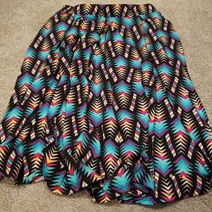 XS LuLaRoe Madison Skirt